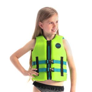 Jobe Neopren Schwimmweste Kinder Lindgrün